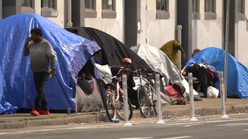 Homeless Encampment in SF