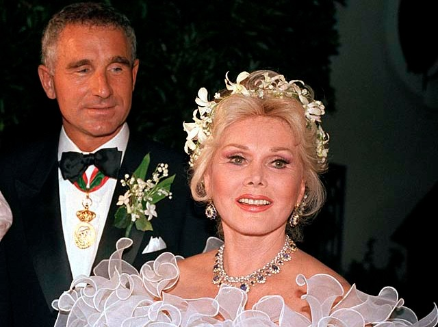 ZSA ZSA AND HUSBAND NUMBER EIGHT