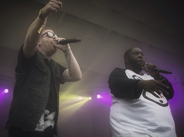 [chicagogram] Run The Jewels ( @thereallyrealelp & @killermikegto ) | Lollapalooza 2014 #distractyourface #lolla