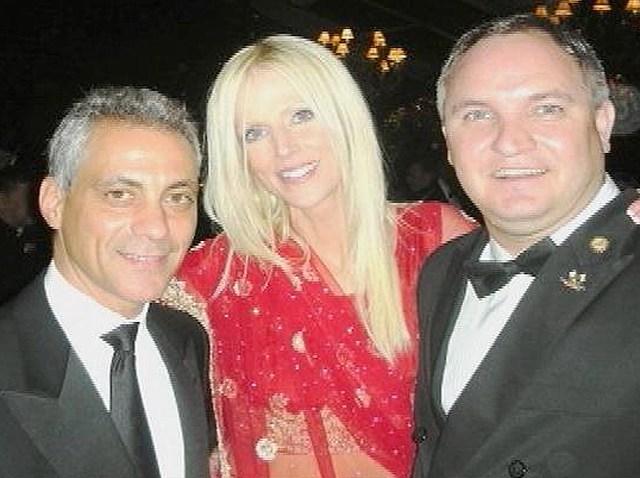 112609 Salahis With Rahm Emanuel