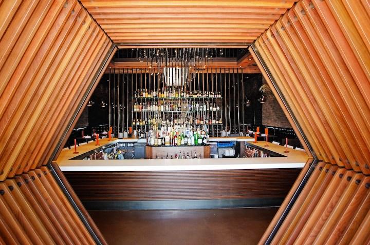 Starlite restaurant hexagon entrance
