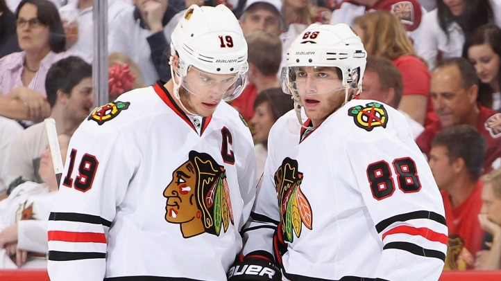 Jonathan Toews, Patrick Kane Game 5 2012