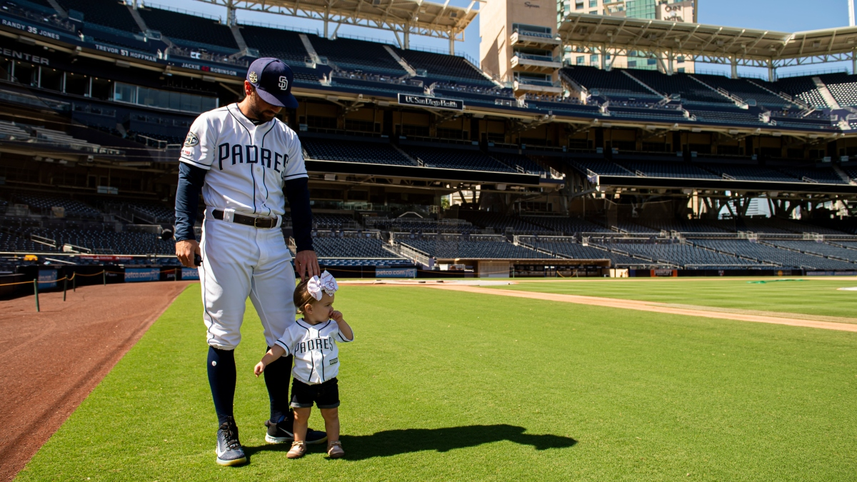 Padres Greg Garcia Finds Silver Lining in Delayed Season
