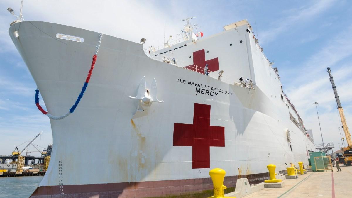 SD-Based Navy Hospital Ship to Aid Los Angeles During Coronavirus Pandemic