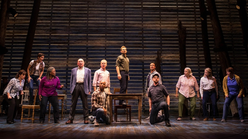 5-3-17-The cast of COME FROM AWAY photo by Matthew Murphy 2017 CROP