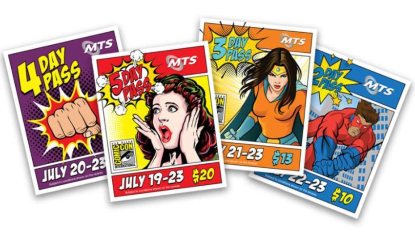 7-18-17-Comic Con San Diego 2017 Commemorative Passes