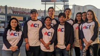ACT teen advocates
