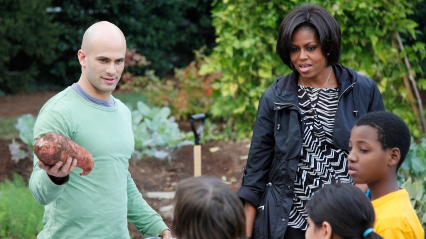 Sam Kass Michelle Obama White House