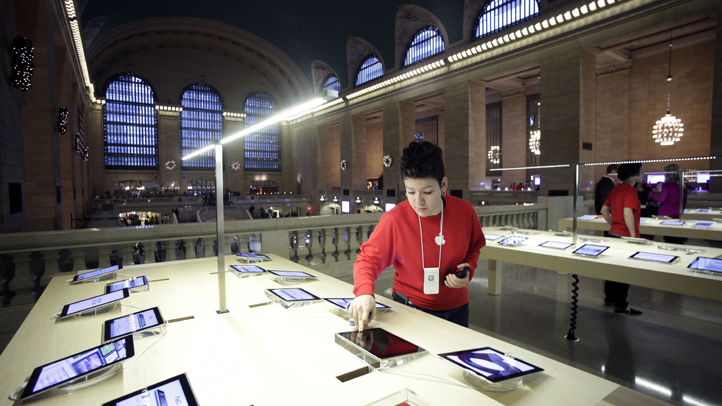 Apple in Grand Central