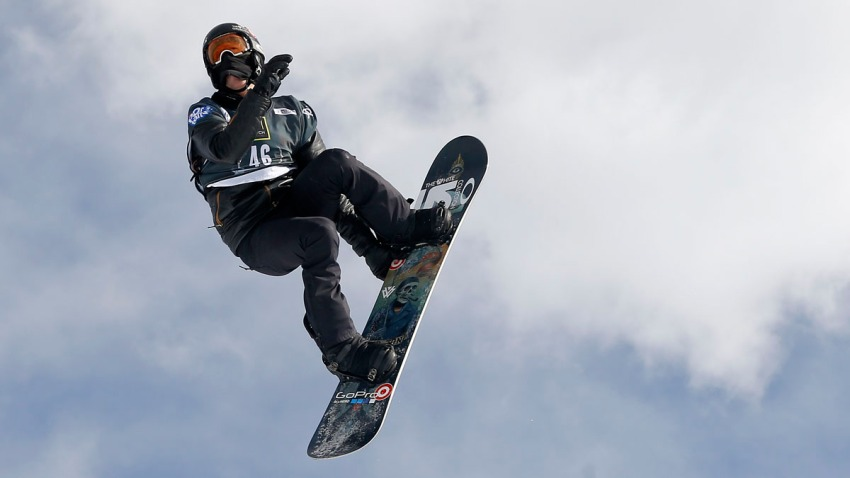 Shaun White New Trick Snowboarding