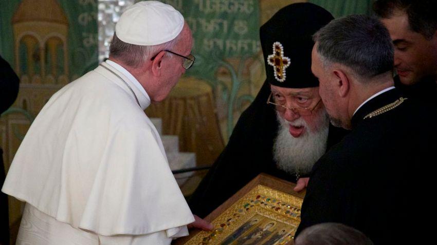 Georgia Pope Caucasus