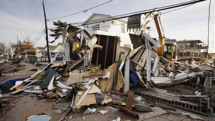 Superstorm Sandy Rubble