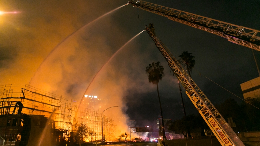 Los Angeles Apartment Fire