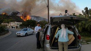 Evacuations in Duarte