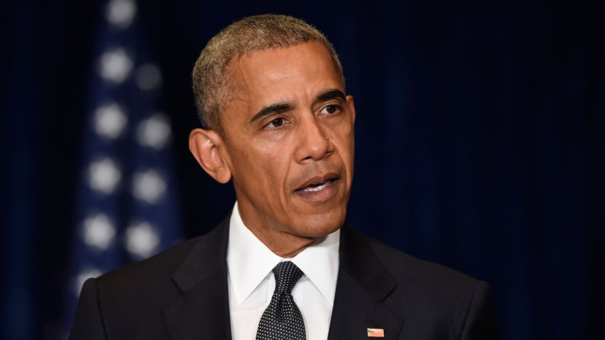 Obama US Shooting