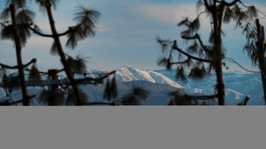 California Mountain Snow