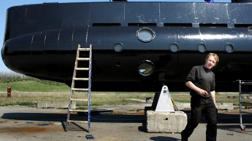 Denmark Missing Submarine