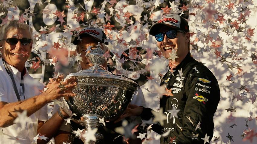 APTOPIX IndyCar Sonoma Auto Racing