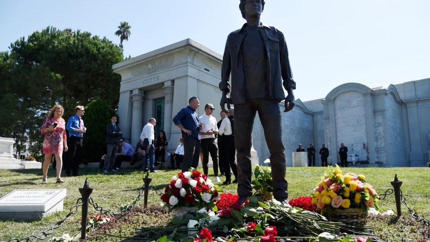 Anton Yelchin Life Celebration and Statue Unveiling Ceremony