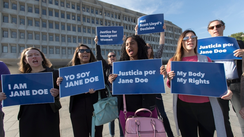 Immigrant Detained Abortion