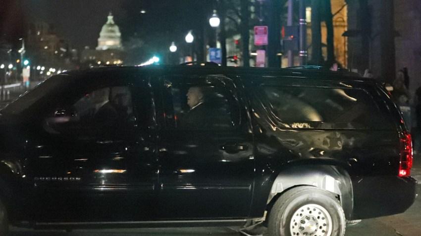 Trump Ignoring DC