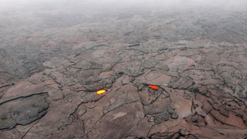 CORRECTION Hawaii Volcano