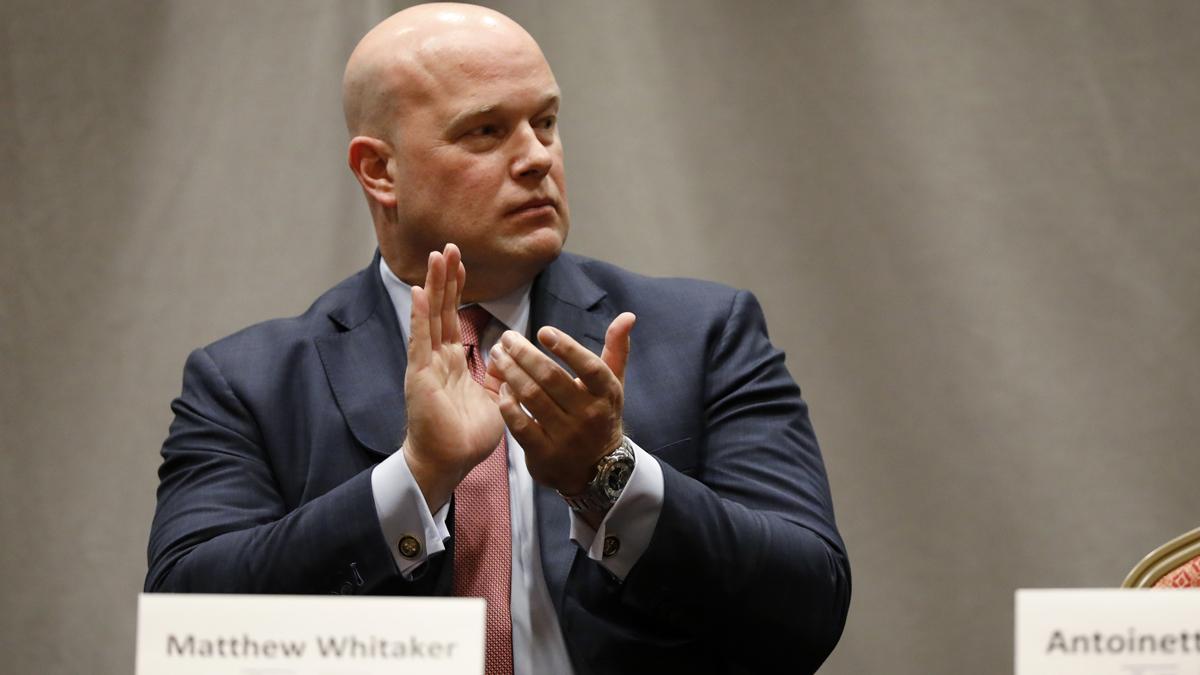 Whitehouse, 2 other senators sue over Whitakers