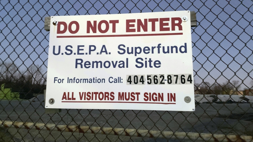 Government Shutdown Superfund Sites