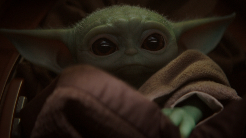Disney Plus Baby Yoda Sharing