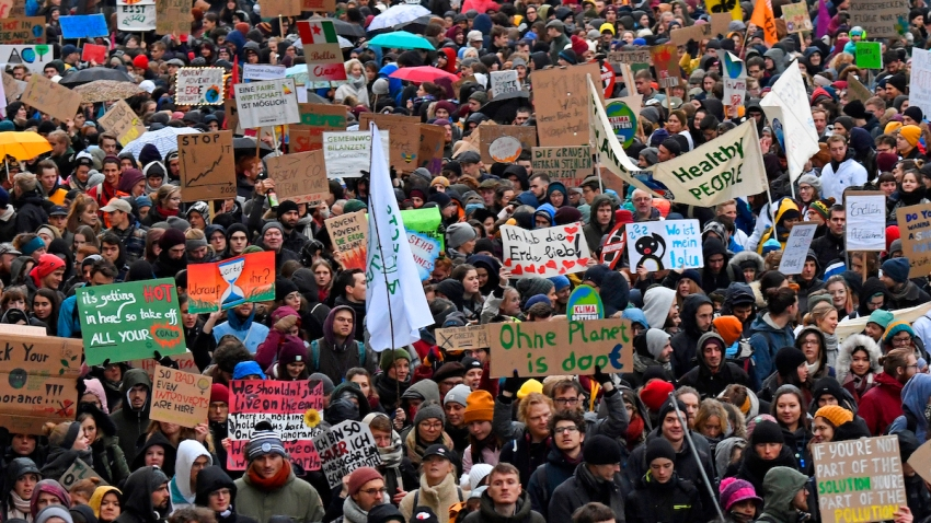 Germany Climate Protests
