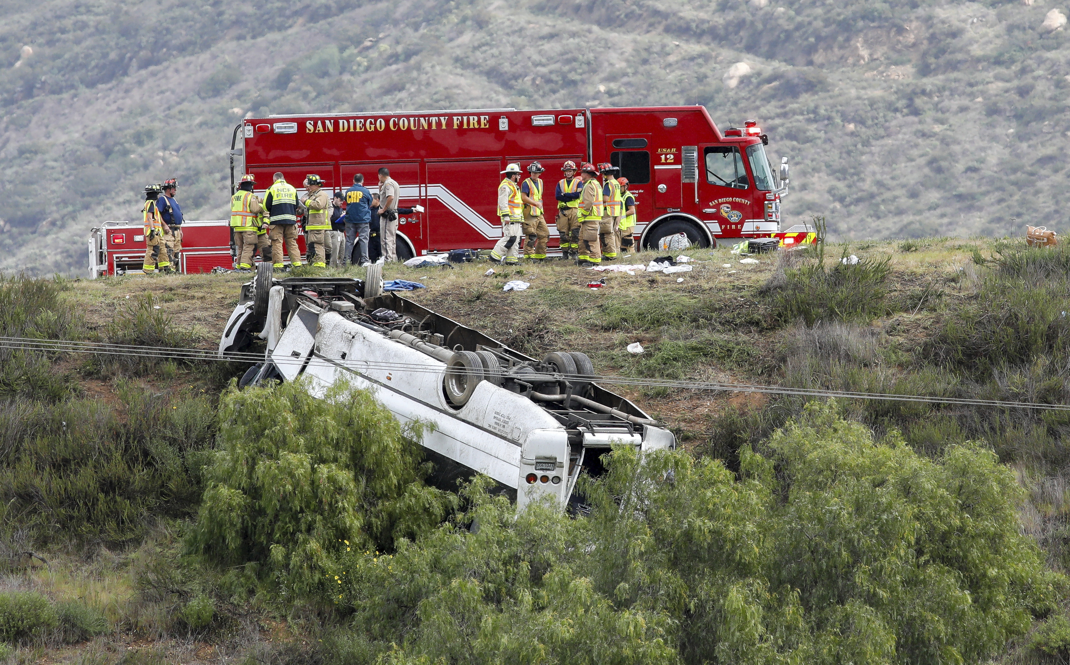 National Transportation Safety Board to Investigate California Bus Rollover That Killed 3