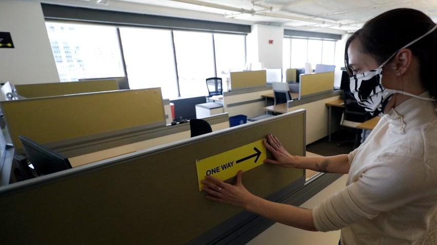 Virus Outbreak Future of the Office