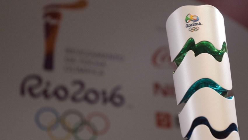 Brazil Olympic Torch