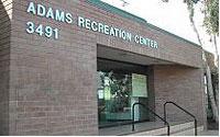 The Adams Recreation Center on Adams Avenue in San Diego.