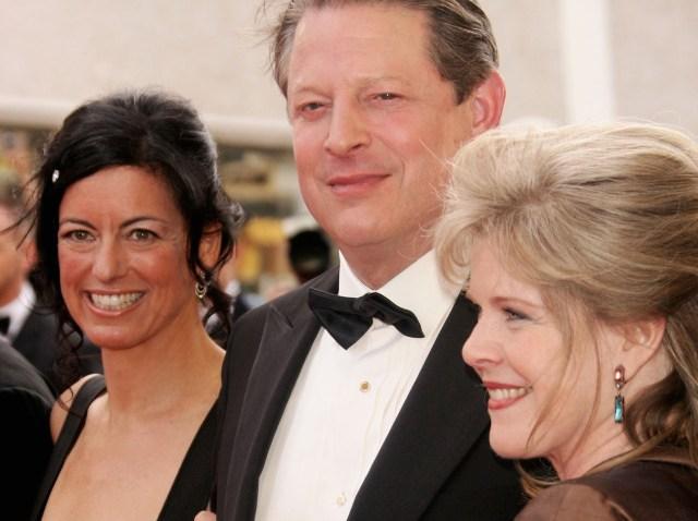 Al Gore-Laurie David-Tipper Gore-640