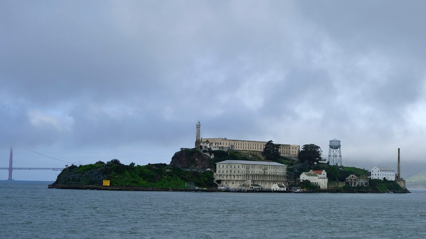 Alcatraz Island Tunnels