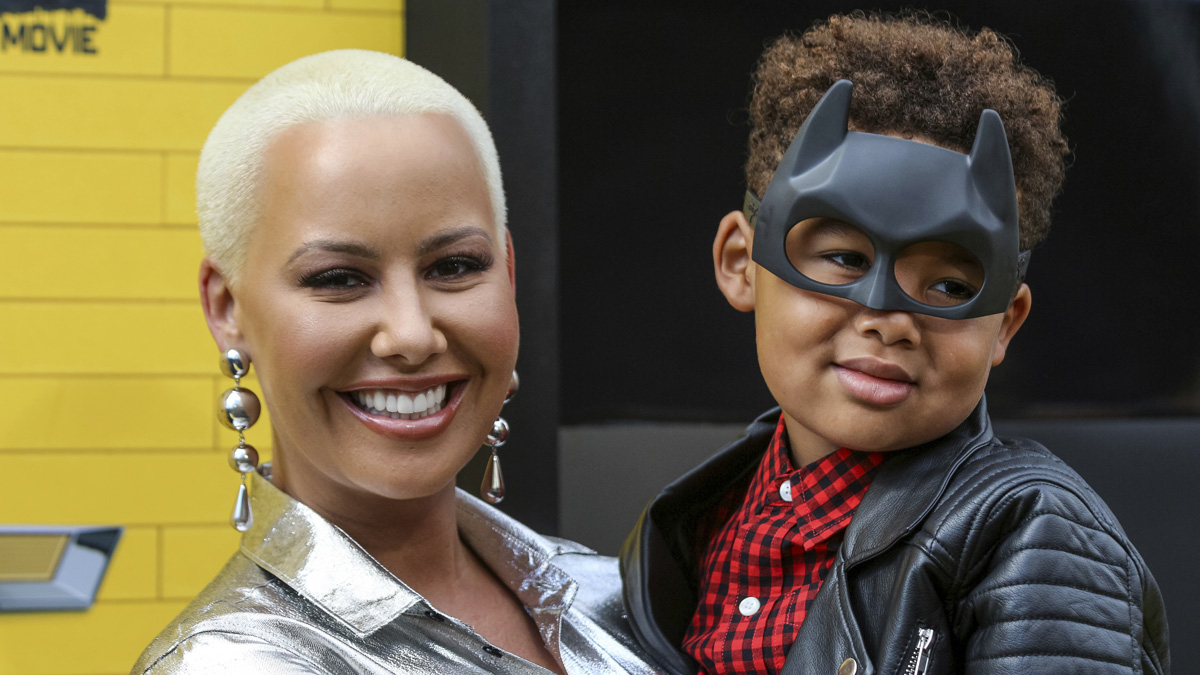 Amber Rose Porn Movie amber rose snaps back at trolls who called her son 'gay