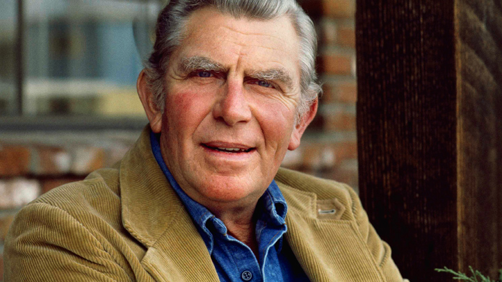 Actor Andy Griffith 1983