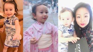 Three-year-old Annabel Wucinski