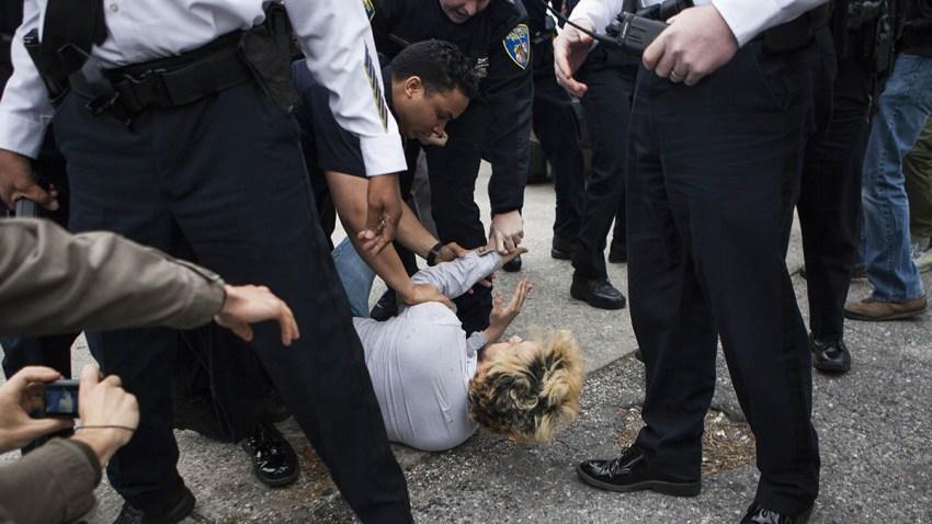 Baltimore Police Arrest 23 April