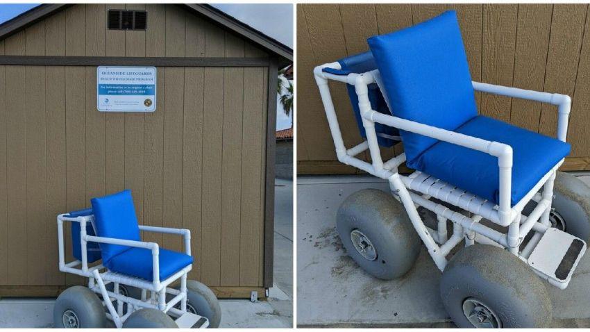 Beach Wheelchairs Oceanside