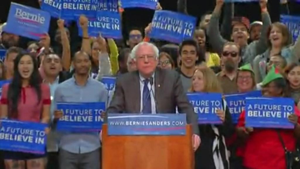 Bernie Sanders San Diego 0322 2016