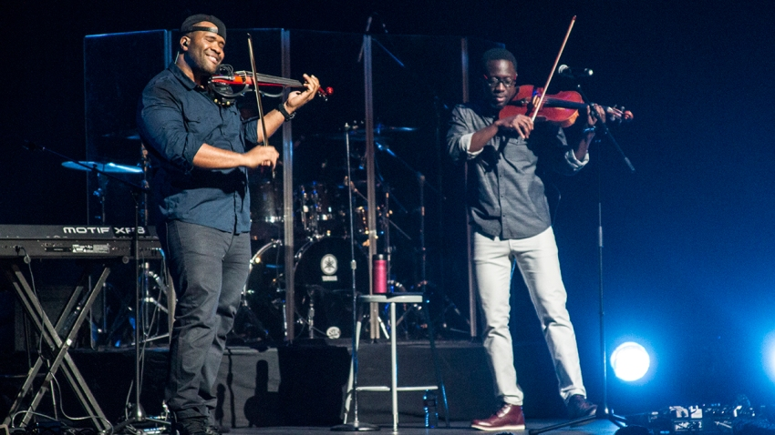 Black Violin headlines California Center for the Arts, Escondido on Friday.