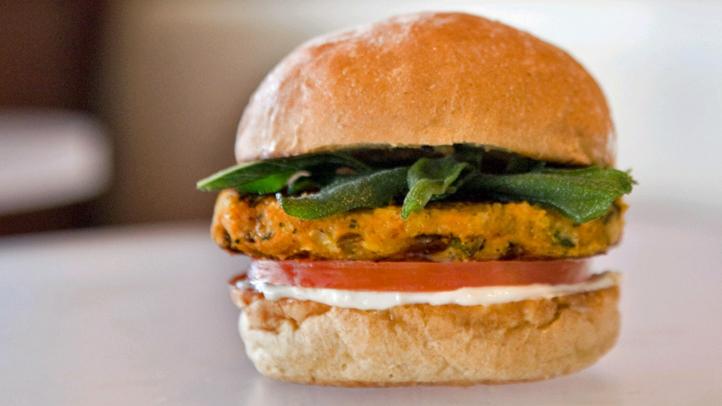 Burger Lounge - Autumn Veggie Burger