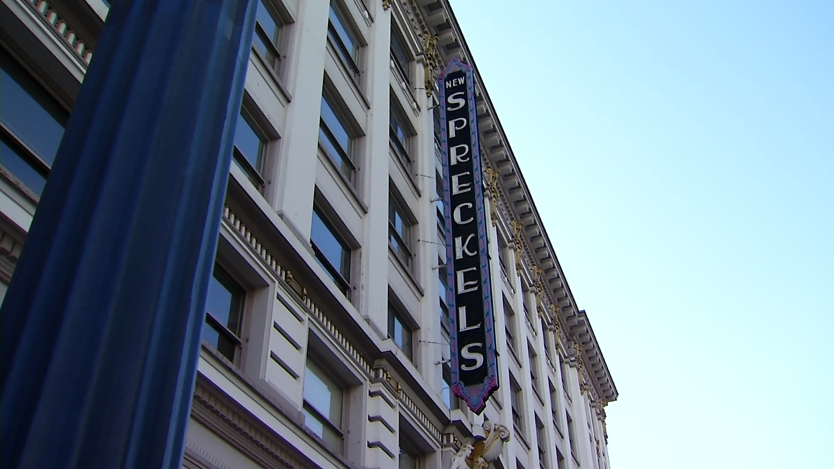 Iconic Spreckels Theatre Downtown for Sale