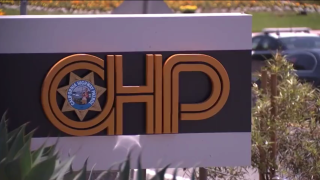 CHP marquise at office in San Diego