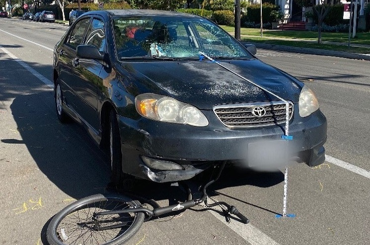 nbcsandiego.com - Karla Rendon-Alvarez - 4 Bicyclists Hit by Car as Driver Experiences Medical Issue