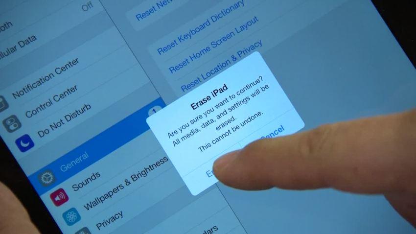 CR Erase iPad1