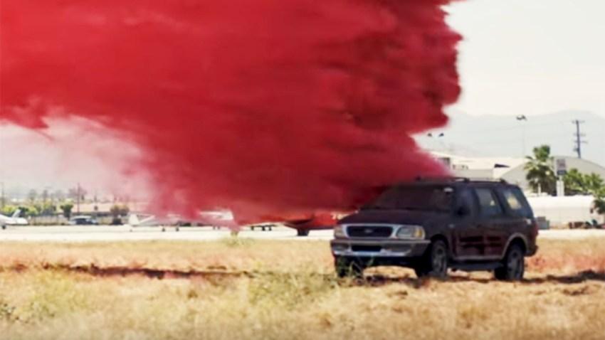 Cal Fire Retardant Drop 082319_2