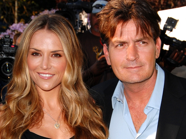 Charlie Sheen Brooke Mueller Chrysalis Butterfly Ball